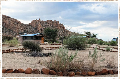 Bush camp in the Erongo